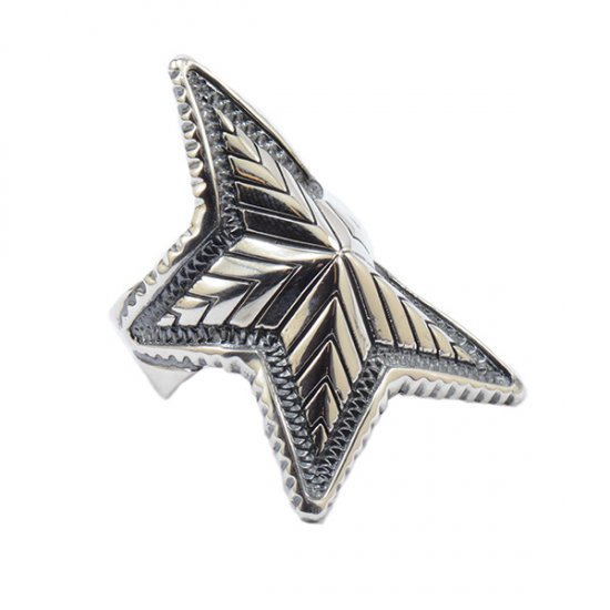 Cody Sanderson Sterling Silver Depp Star Ring