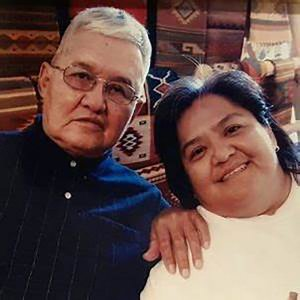 Thomas Curtis and Jennifer Curtis, two master Navajo silversmiths